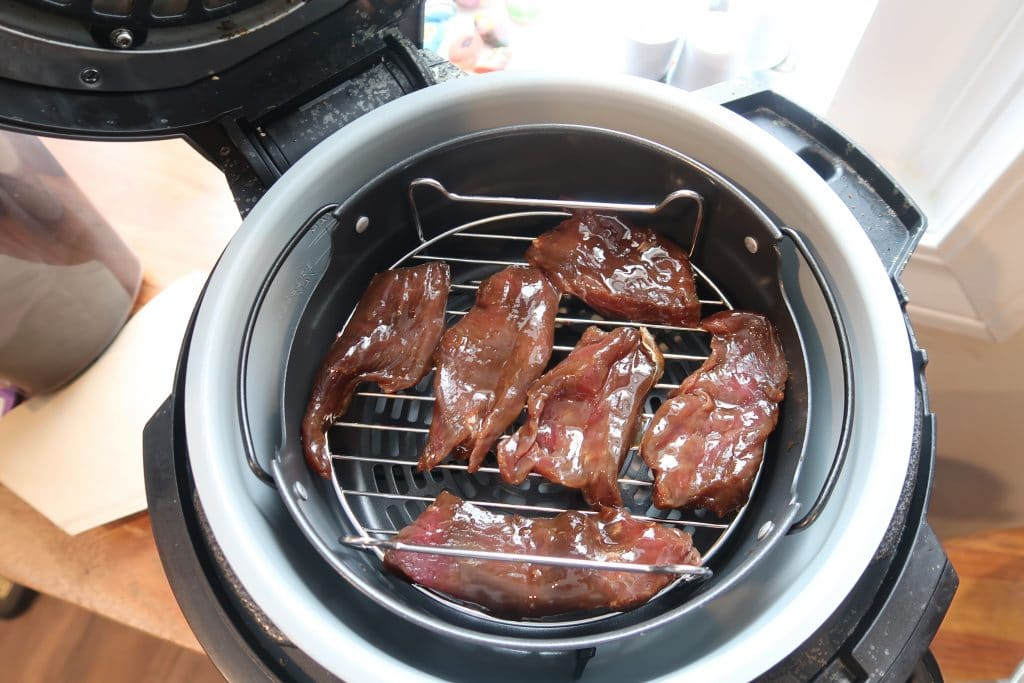 venison jerky air fryer recipe