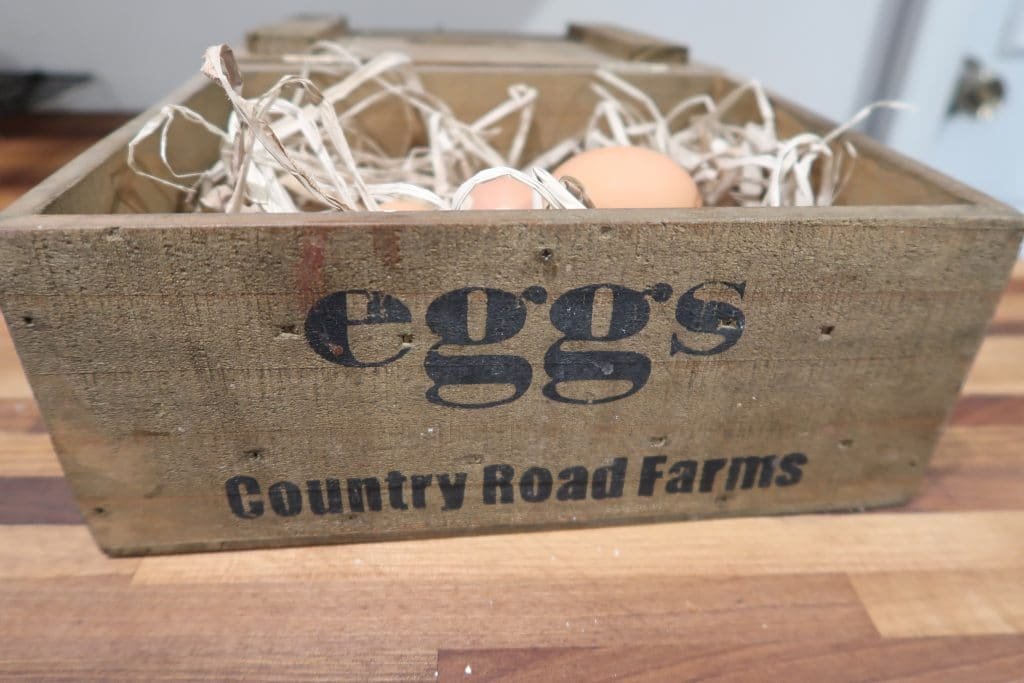 egg box basket