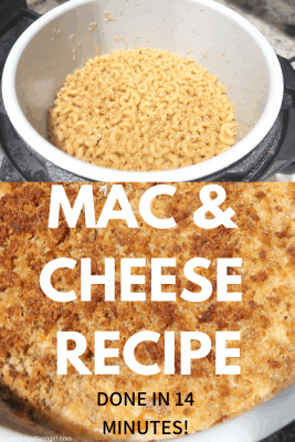 how to cook macaroni and cheese in pressure cooker