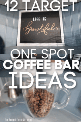 coffee bar ideas target