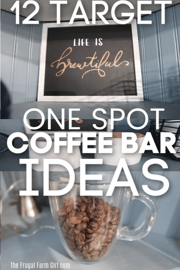 coffee bar ideas target