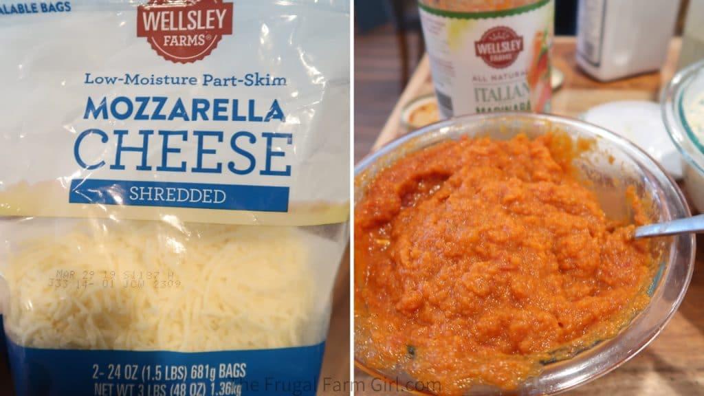 healthy lasagna vegetarian