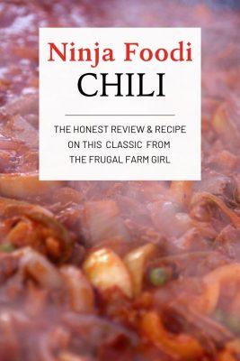 ninja foodi chili recipe