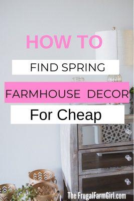 spring decora farmhouse cheap