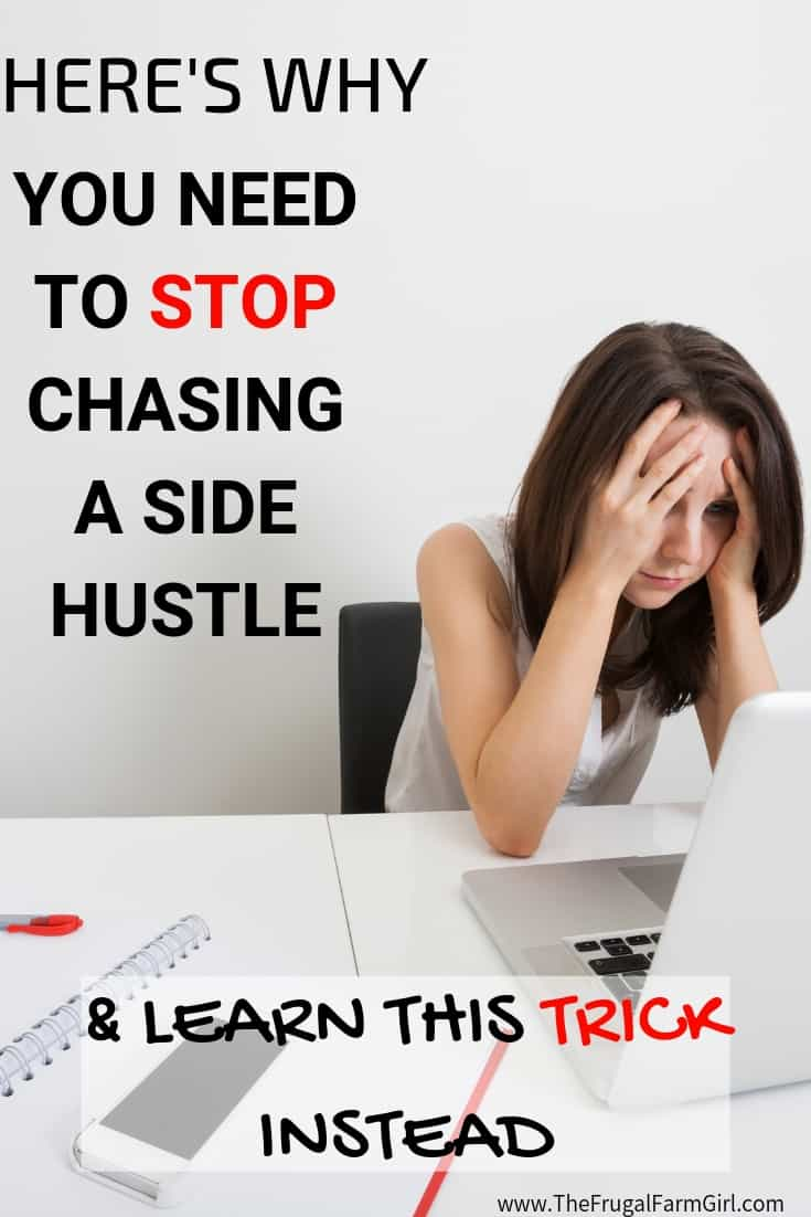 side hustles to stop doing and try this