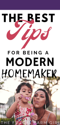modern homemaker tips today