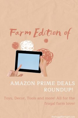 amazon prime day deals for farm lovers