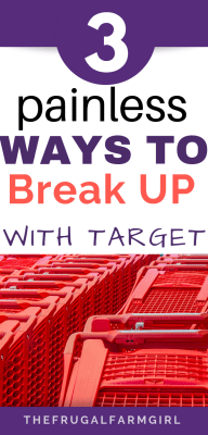 painfree tips to give up your target redcard