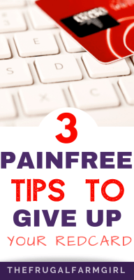 painfree tips to give up your redcard