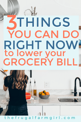 ways to save money on groceries now