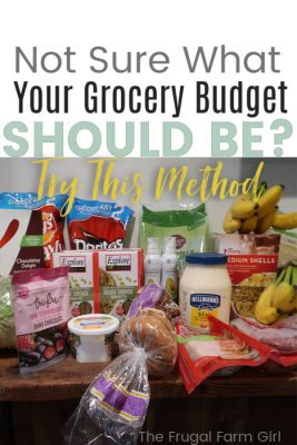grocery budget calculator