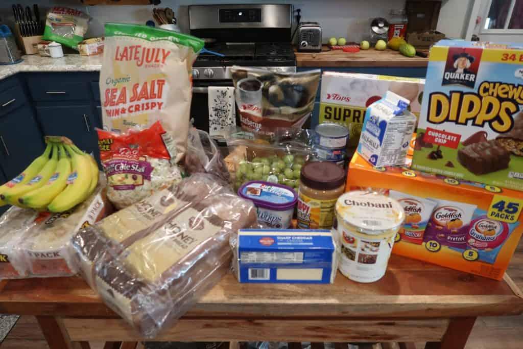 Here's This Week's $61 Grocery Trip & Meal Menu