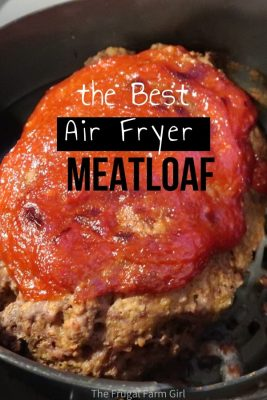 best air fryer meatloaf