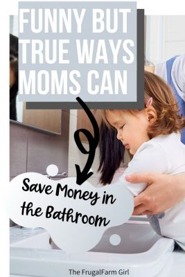 14 Ridiculous But Proven Ways to Save Money in Your Bathroom