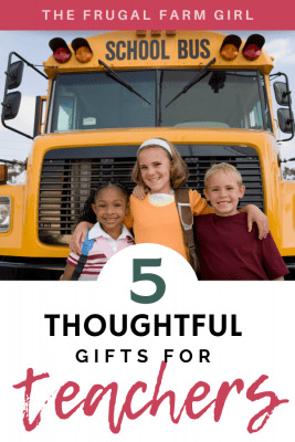 5 Caring Gift Ideas for Teachers This Year