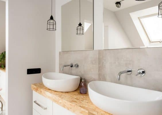 save money in your bathroom