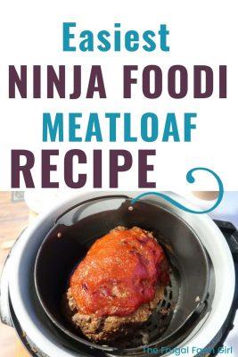 ninja foodi recipe for meatloaf