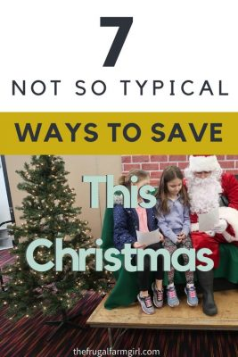 frugal christmas ideas and tips