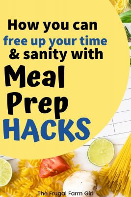 10 Hacks to Meal Prep When You Are Short on Time