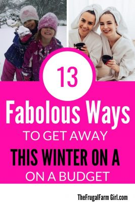 13 fabolous ways to get away this winter