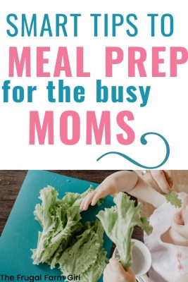 meal prep hacks for the busy mom
