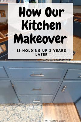 kitchen makeover update