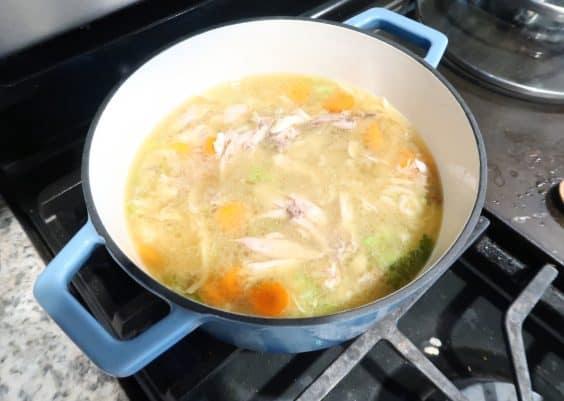 chicken soup ninja foodi
