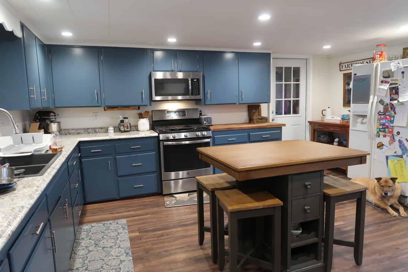 What Our Farmhouse Kitchen Makeover