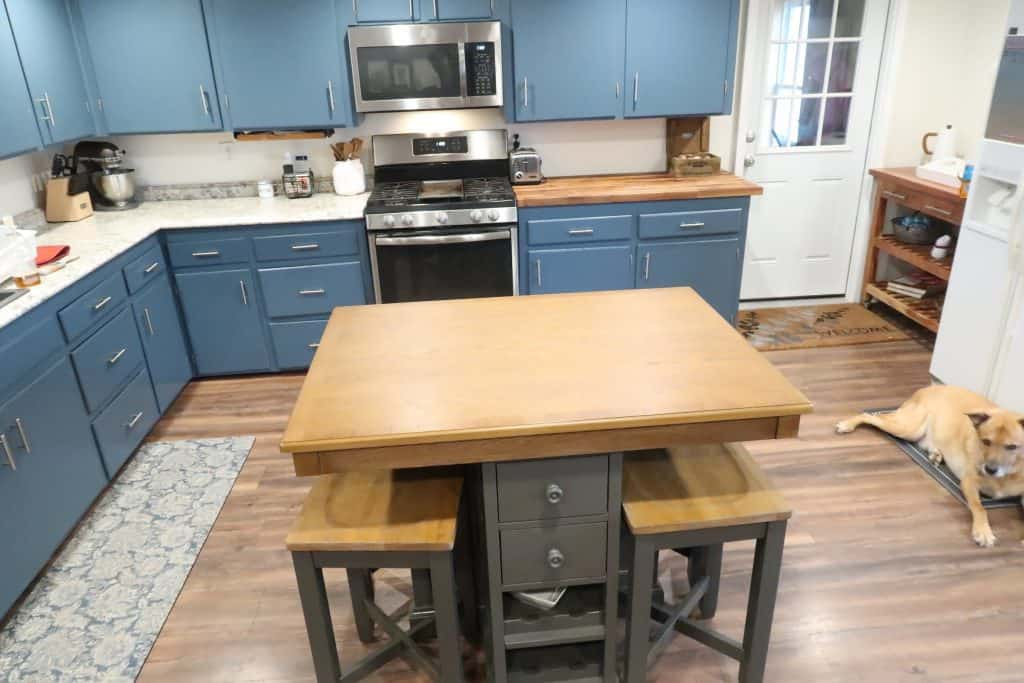 What our Farmhouse Kitchen Makeover Looks Like 2 years later