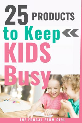 25 Products to Keep Kids Busy & Creative
