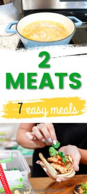 7 Easy Staple Meals You Can Make For Cheap