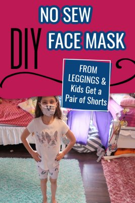 diy no sew face mask from leggings