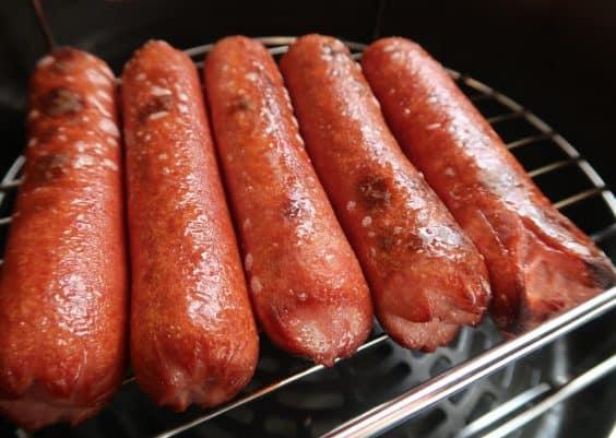 hot dogs in ninja foodi