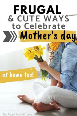 frugal mothers day ideas