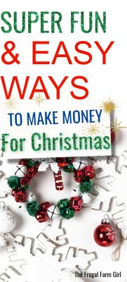 make money for holidays