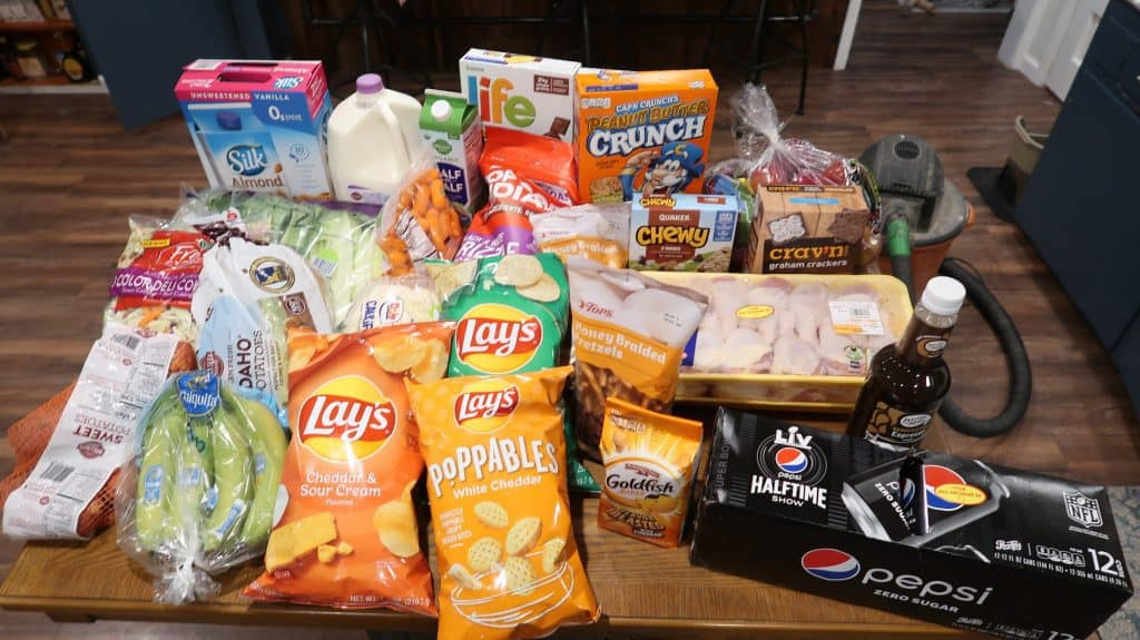 Weekly Grocery Shopping Trip & Meal Menu 2/3