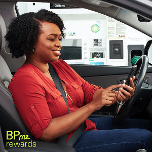 save on gas with bp me app