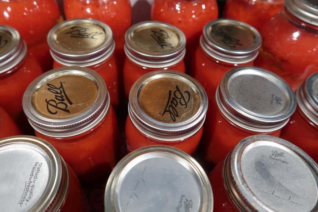 ball jar canning supplies