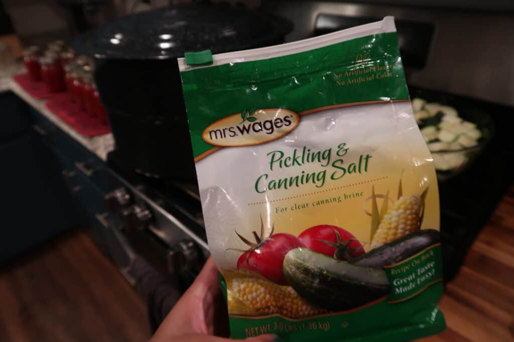 mrs. wages canning and pickling salt