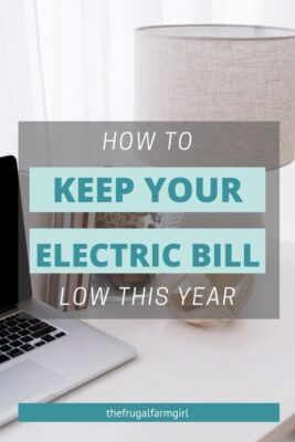 lower electric bill in your home