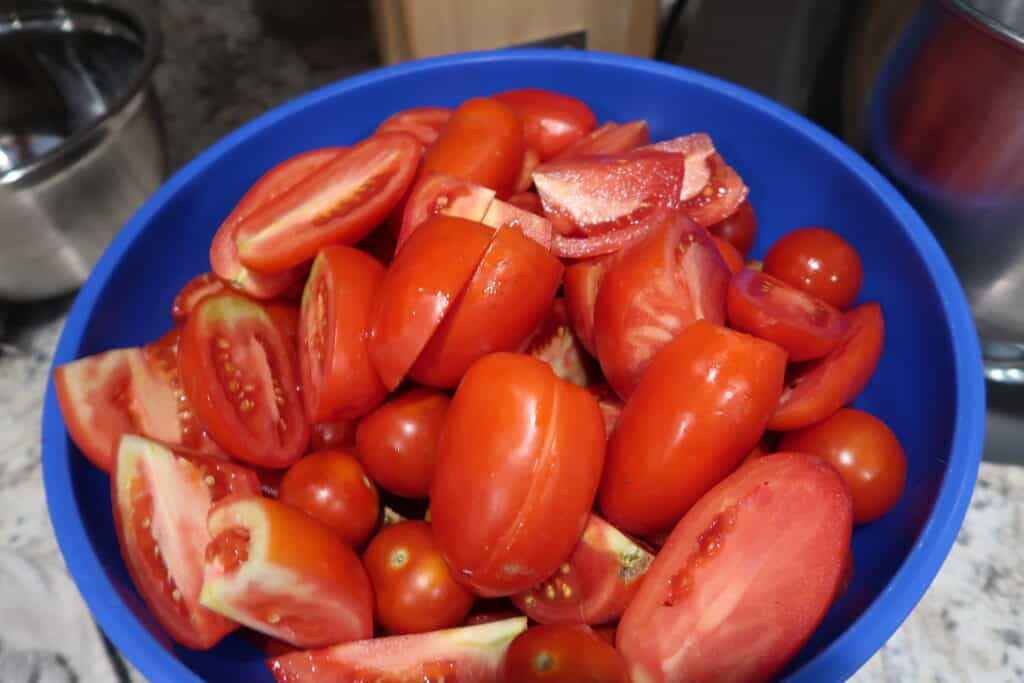 how to make tomato sauce without peeling tomatoes
