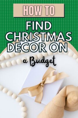 how to find christmas decorations on a budget
