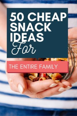cheap snack ideas for the family